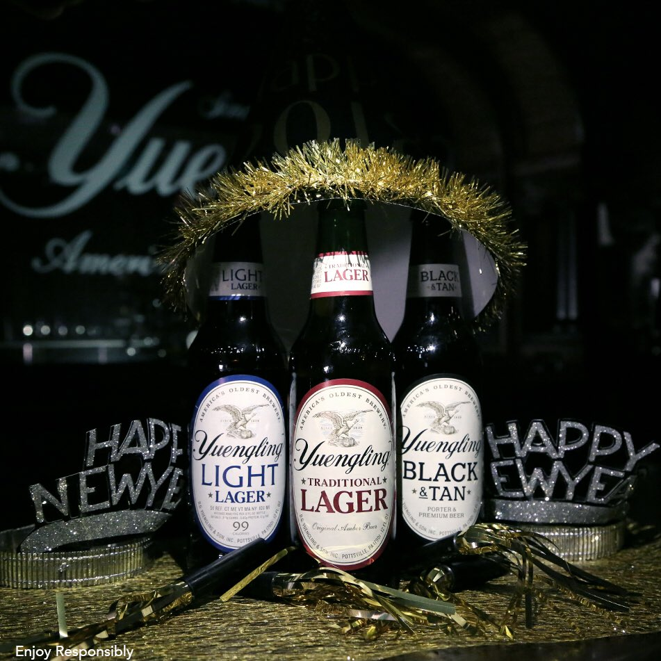Eve Brewery : Happy Eve America Brewery nye yuengling lager