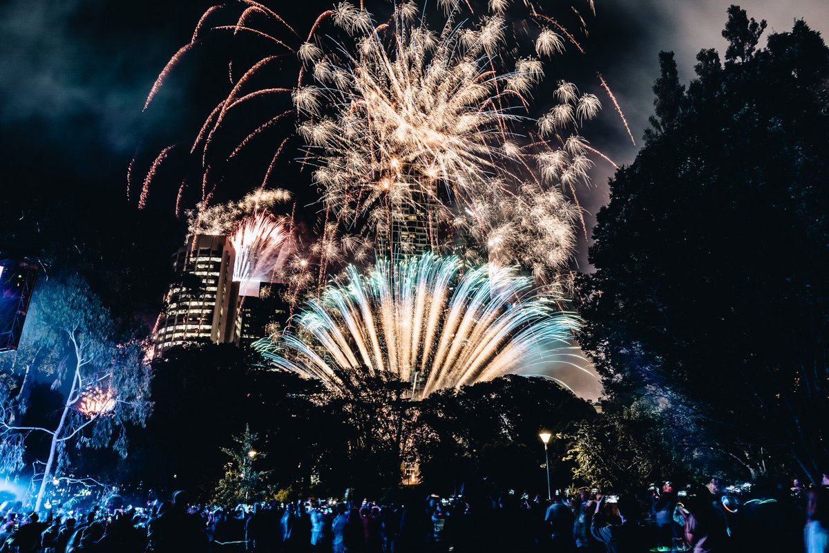 last night melbourne bid farewell to 2017 and welcomed 2018 in stunning style heres to a happy healthy and loving year ahead