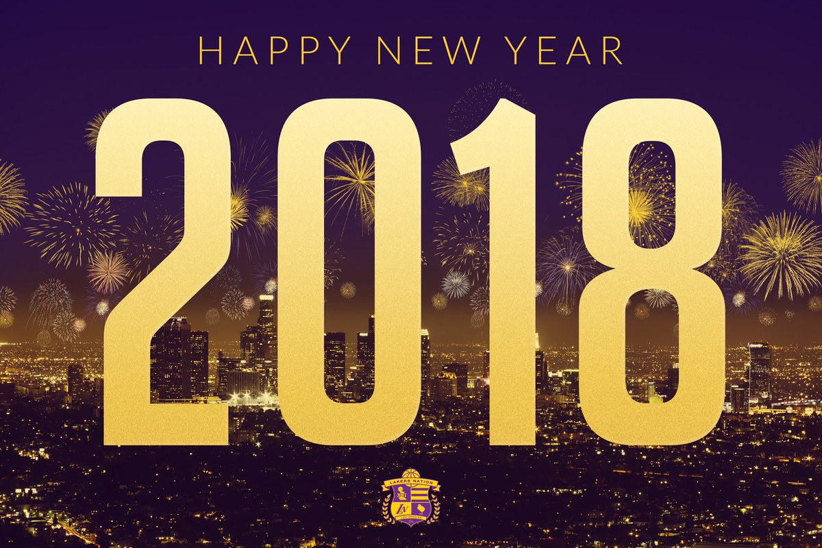 Lakers Nation On Twitter HappyNewYear Everybody
