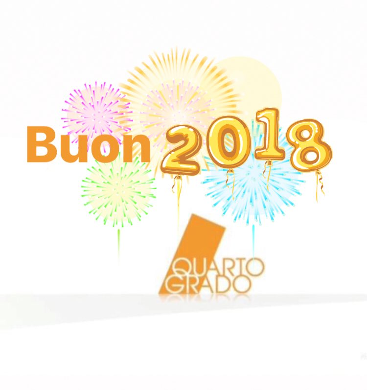 Buon 2018!🧡  #QuartoGrado #buonanno #Hap...