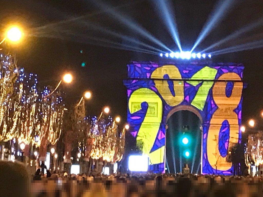 pragma aki_81jp on twitter a happy new year 2018 in paris happynewyear paris