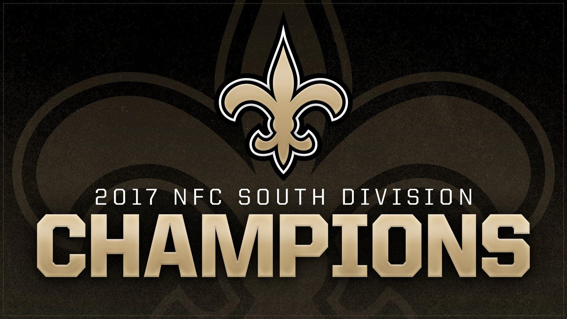 New Orleans Saints On Twitter Nfc South Champs Gosaints