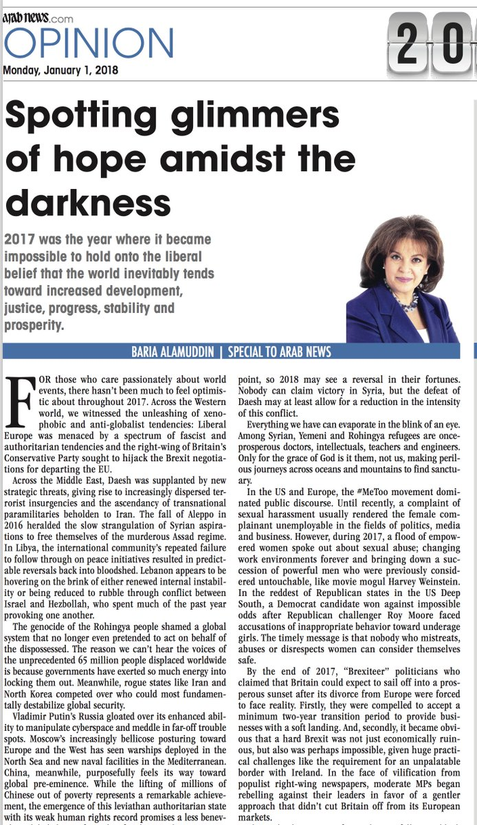 OP-ED: The genocide of the #Rohingya people shamed a global system that no longer even pretended to act on behalf of the dispossessed, writes Baria Alamuddin https://t.co/XrdYRSAnmA