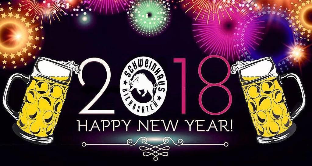 New Years Eve Schweinhaus Style! 🥂🍻🎉 #craftbeer #brewery #newyear #pnw #local #love #2018 #schweinhaus #biergarten ift.tt/2q7rRVf