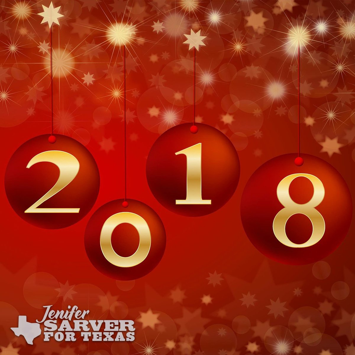 sarver for texas on twitter happy new year ringing in 2018 in the texas hill country stay warm stay safe and may your new year be blessed with love