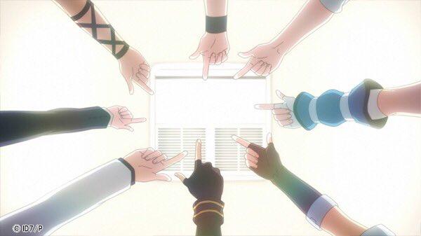 皆さまお待たせいたしました! TOKYO MXにて、アイドリッシュセブン放送開始です! 7つの願いは、運命になるー 最後までお楽しみください! #アニナナ #アイナナ