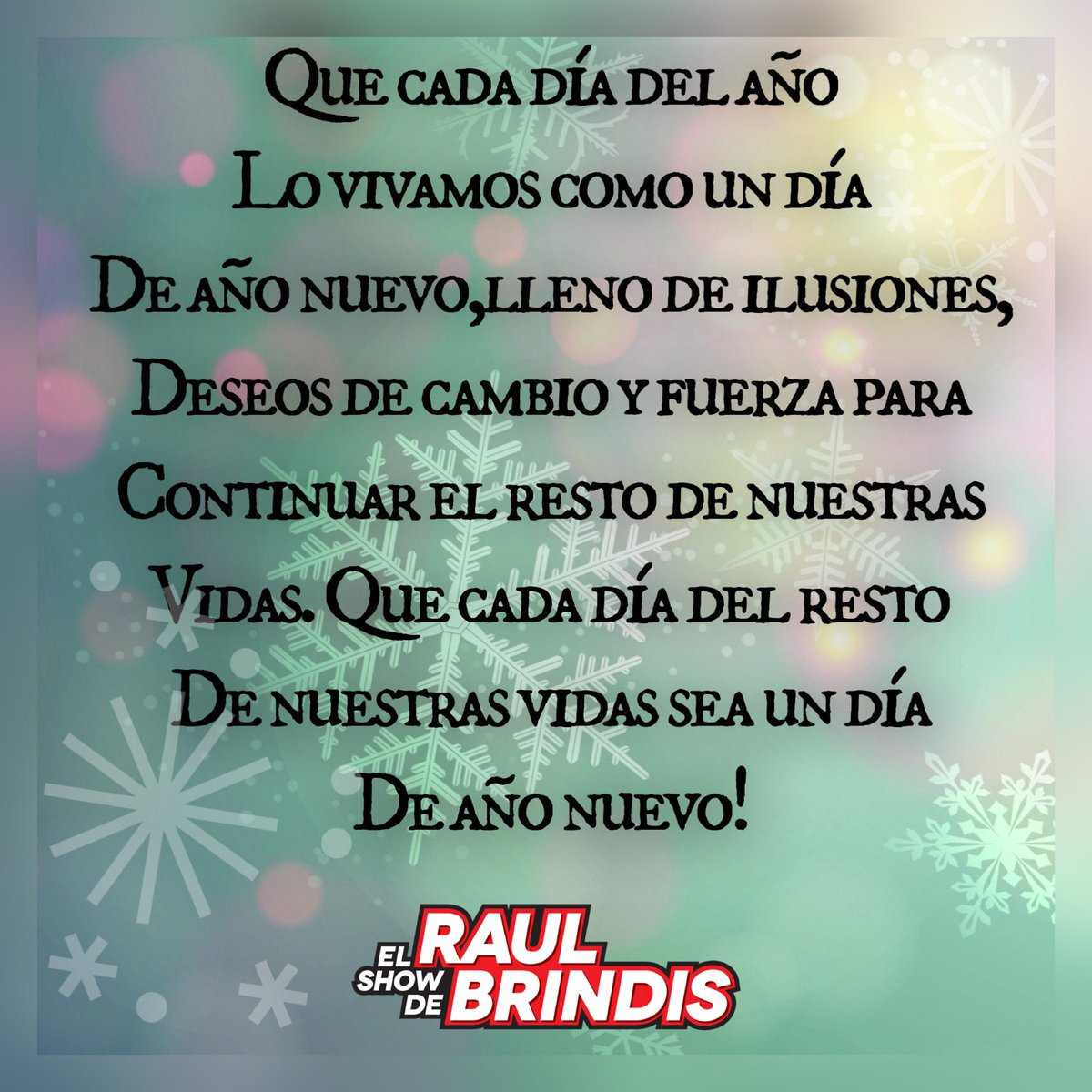 Twitter पर Rosa Buenos Días Feliz Año Nuevo