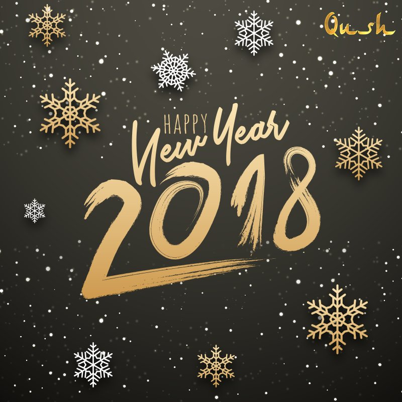 team qush wishes you and your family a very happy new year have a wonderful year ahead qush bandra food drinks hookah thingstodoinmumbai