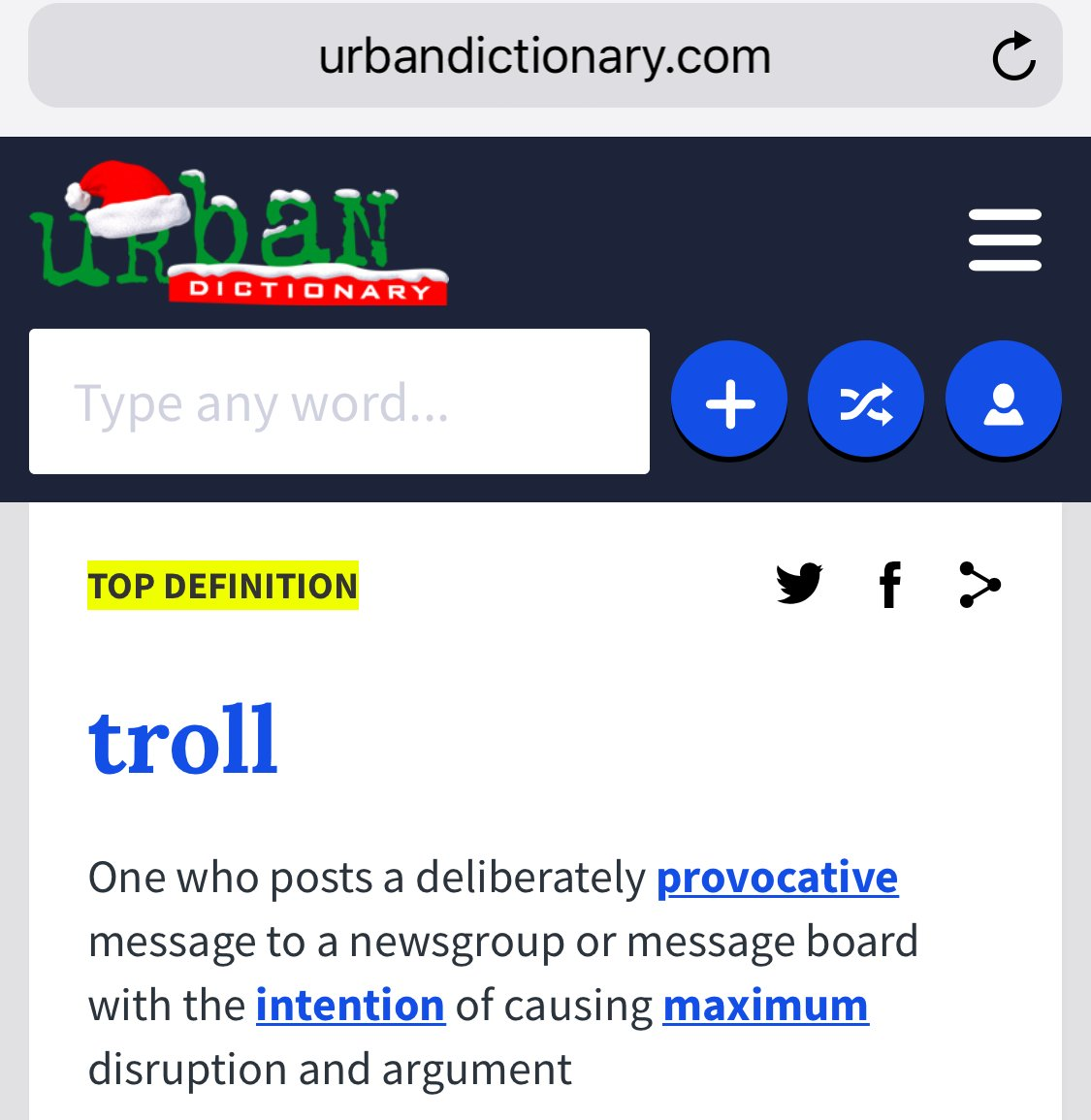 Provocative urban dictionary