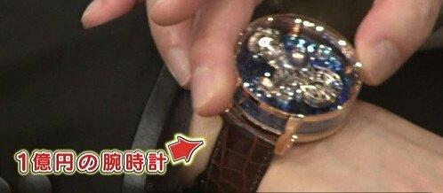 GACKTさんが本日身につけられている1億円の時計は、いつもご愛用されているJACOB&COのアストロノミア トゥールビヨン。 ダイヤモンドの月と地球が回るまさに時計という名の宇宙を感じさせる最高級品です。 #GACKT #YOSHIKI #格付け