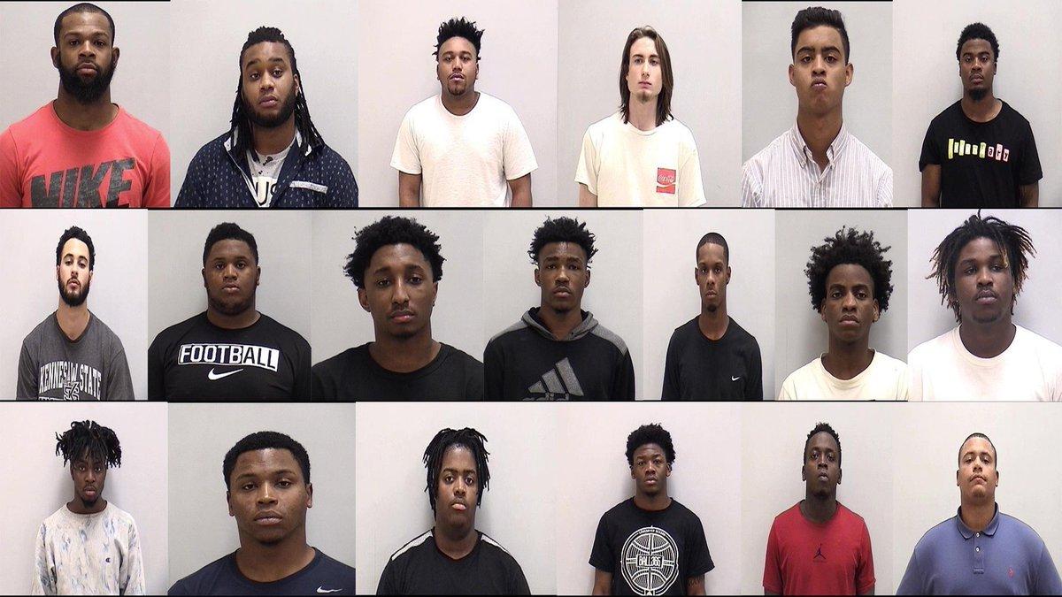 70 people arrested in #Cartersville drug bust: Mugshots on 11alive