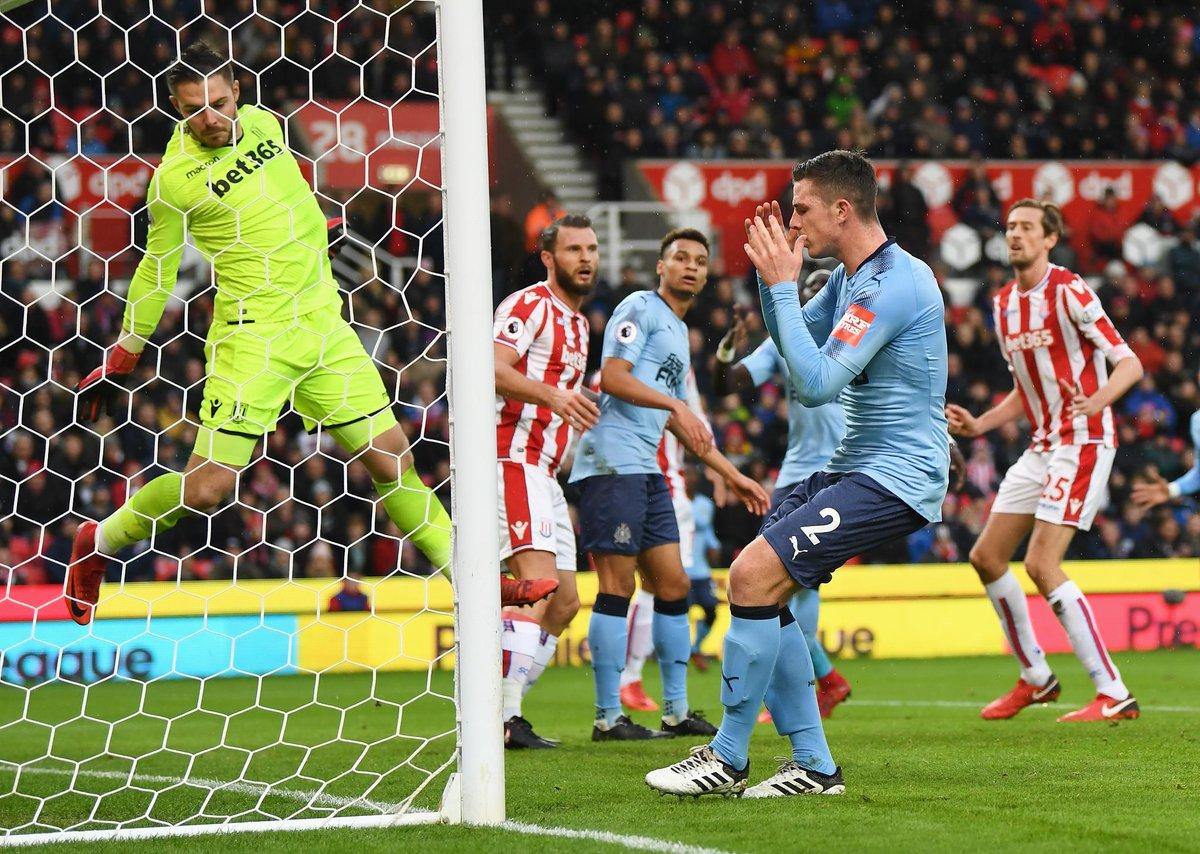 El Stoke cae ante el Newcastle (0-1) y entra en zona de descenso