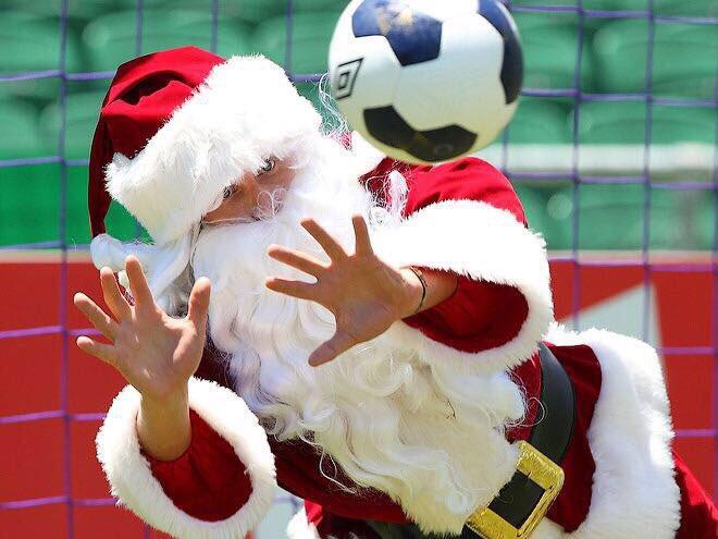 Поздравление с новым годом для юных футболистов