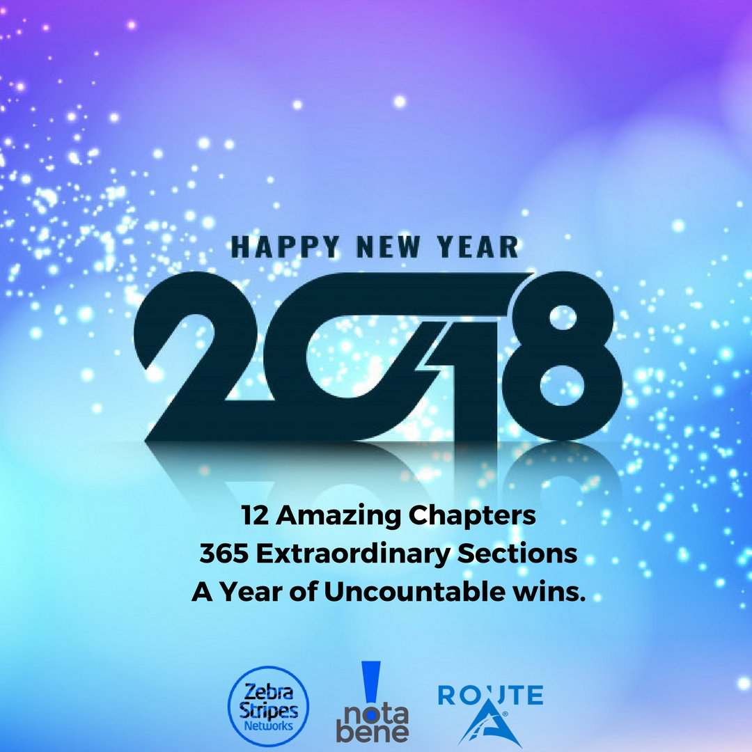 Notabene Digital On Twitter Welcome To 2018 12 Amazing
