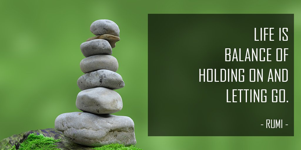 A Z Yoga Quotes On Twitter Life Is Balance Of Holding And