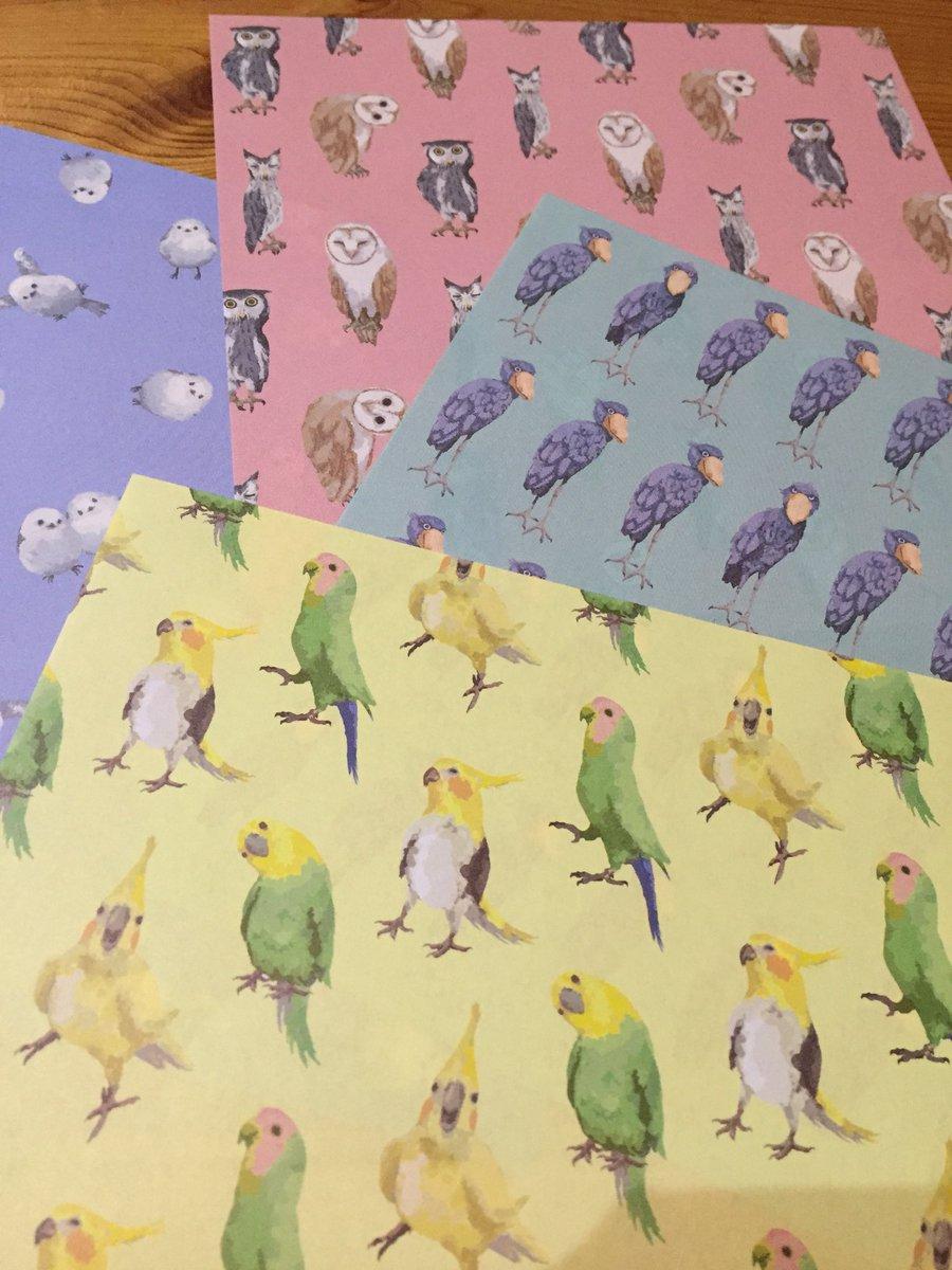 test ツイッターメディア - 鳥柄折り紙発見( ・?・ ) もったいなくて使えません?? #セリア https://t.co/F9pz4JU4J1