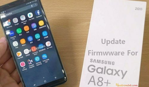 New Rom (Samsung Galaxy A8+ (SM-A730F) Firmware Rom) has been published on...