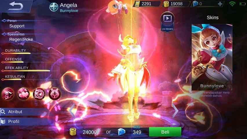 Cerita Angela MLBB Dalam versi cerita Mobile Legend sendiri, Angela adalah seorang jiwa atau bisa dibilang kreasi dari Dr. Gogh, Dr. Gogh sendiri ialah seorang profesor yang bekerja... #SelamatTahunBaru2018 #HappyNewYear #Welcome2018 #Bismillah2018