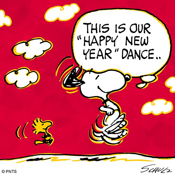 Happy New Year Charlie Brown Quotes: PEANUTS (@Snoopy)