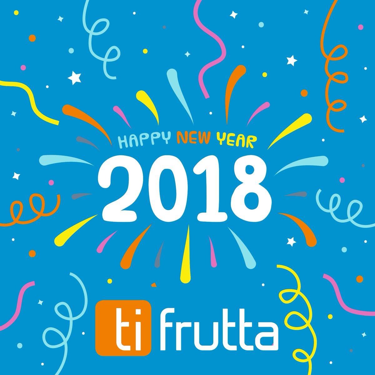 @ti_frutta augura a tutti voi un 2018 ricco di #cashback! https://t.co/JXDwIMnUTX