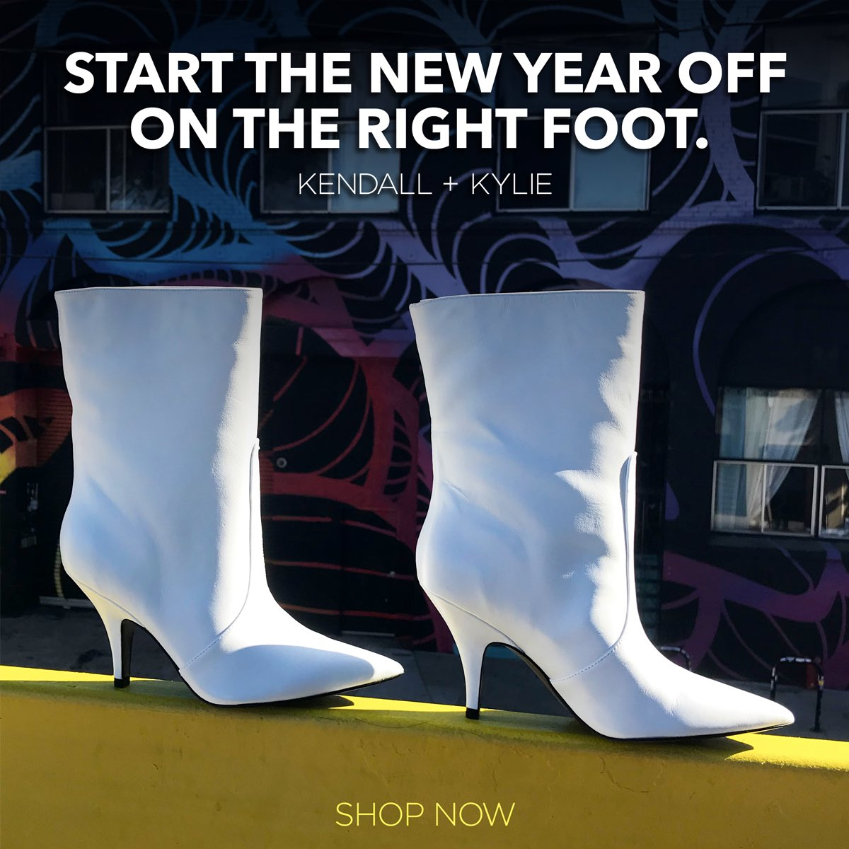 shop footwear from @kendallandkylie and start 2018 on the right foot! Visit https://t.co/3cyzlinqfC