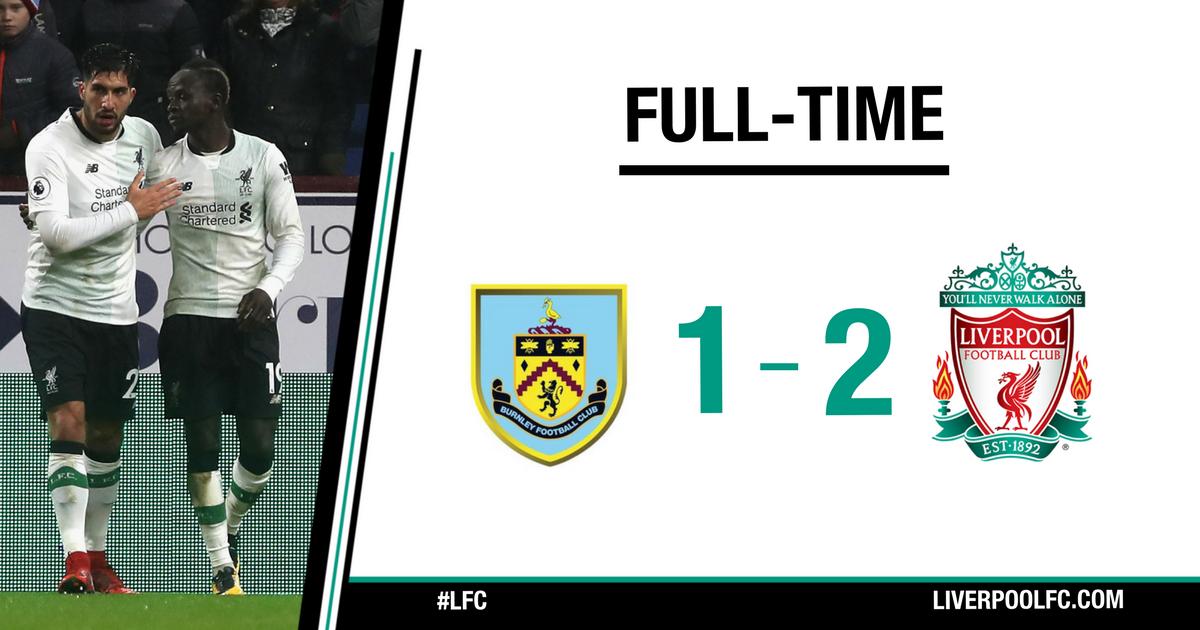 Chấm điểm trận Burnley 1-2 Liverpool