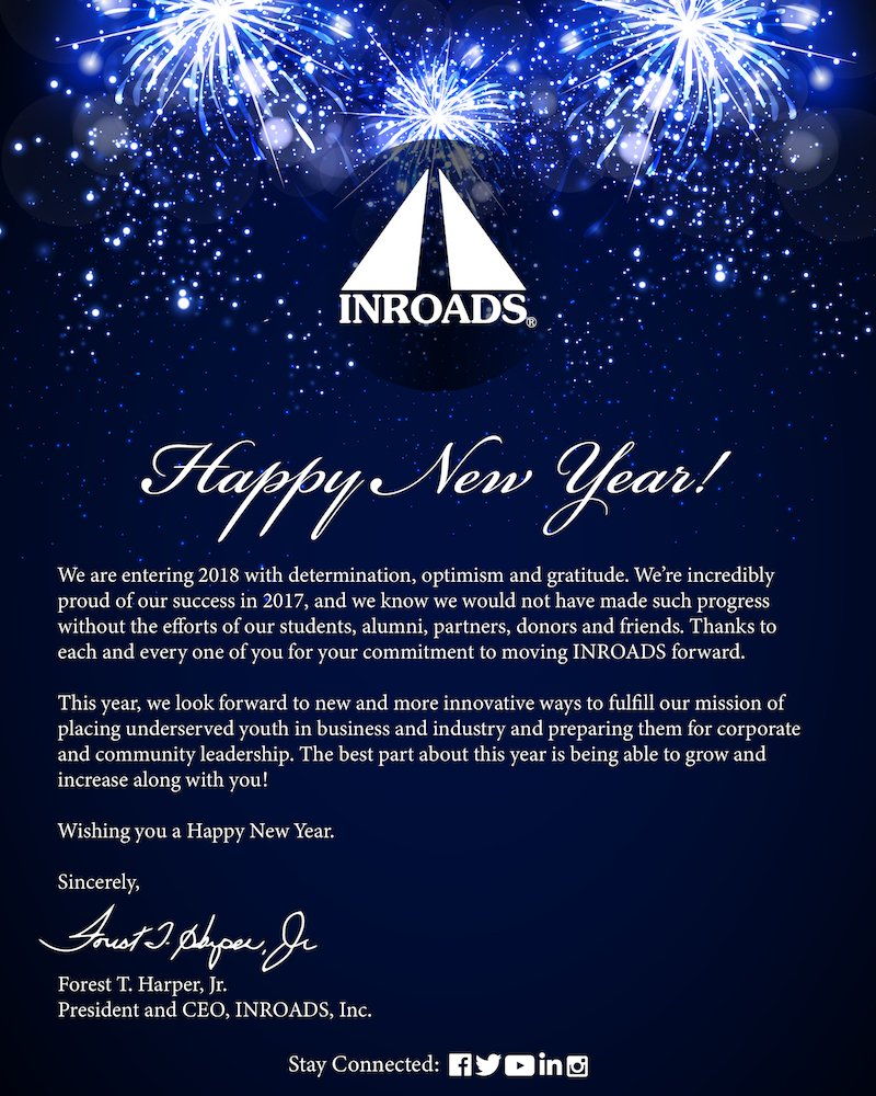 inroads inc on twitter happy new year inroads wishes you all a safe and cheerful year ahead