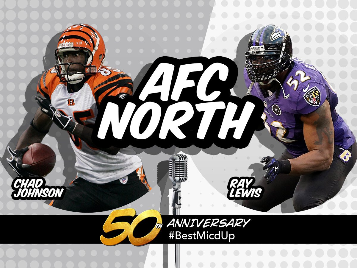 .@ochocinco & @raylewis are tied at 50/50 in Round 2 of #BestMicdUp!   Vote, vote, vote! ��  https://t.co/DG9wtnGW2Y https://t.co/mdr5Y4XVzV