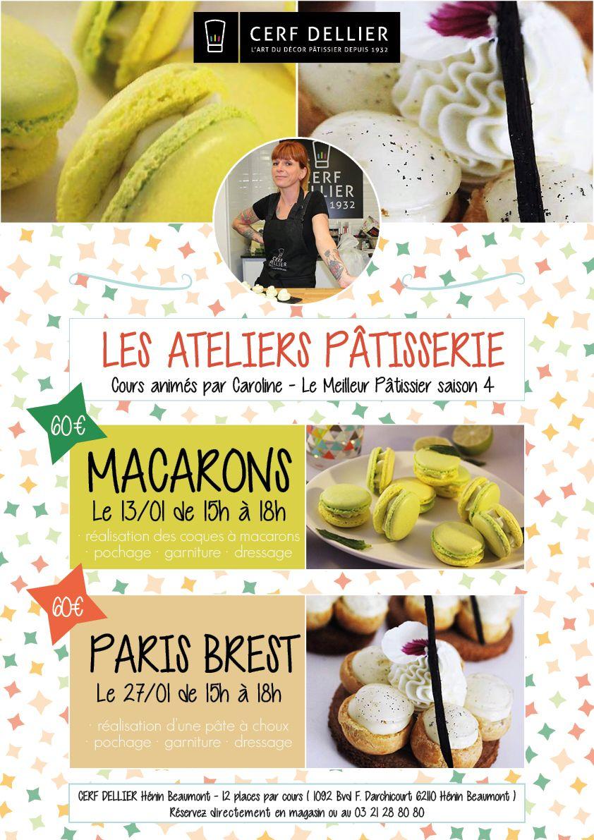 """Cours De Cuisine Henin Beaumont cerf dellier on twitter: """"assistez aux cours de pâtisserie"""