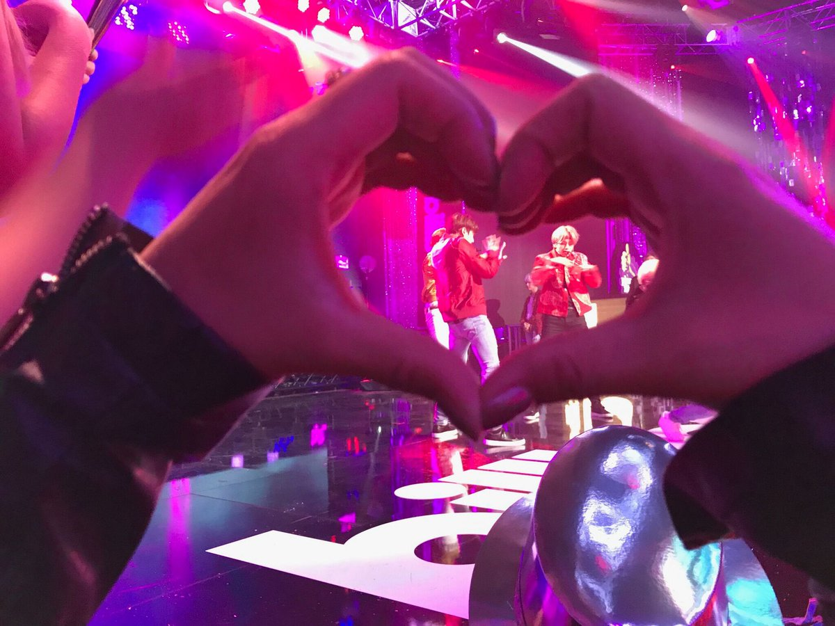 Sending BTS lots of love this year! ❤️❤️...