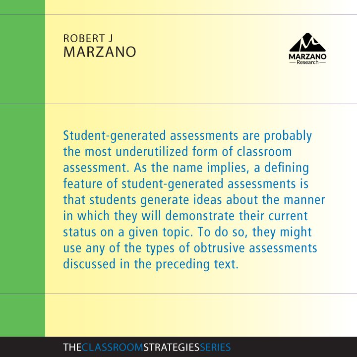 Marzano Research On Twitter  Types Of Assessments Can And Should