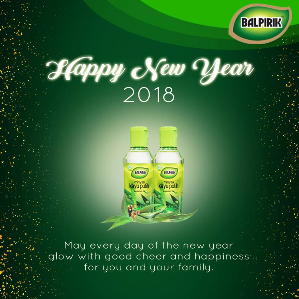 Semoga tahun ini membawa kebahagiaan untuk semua Sahabat Balpirik! #Balpirik #Bikinenak #Balu #SelamatTahunBaru2018 #PagiPagi #Resolusi2018 #Udah2018 #Bismillah2018 #twitter #Indonesia