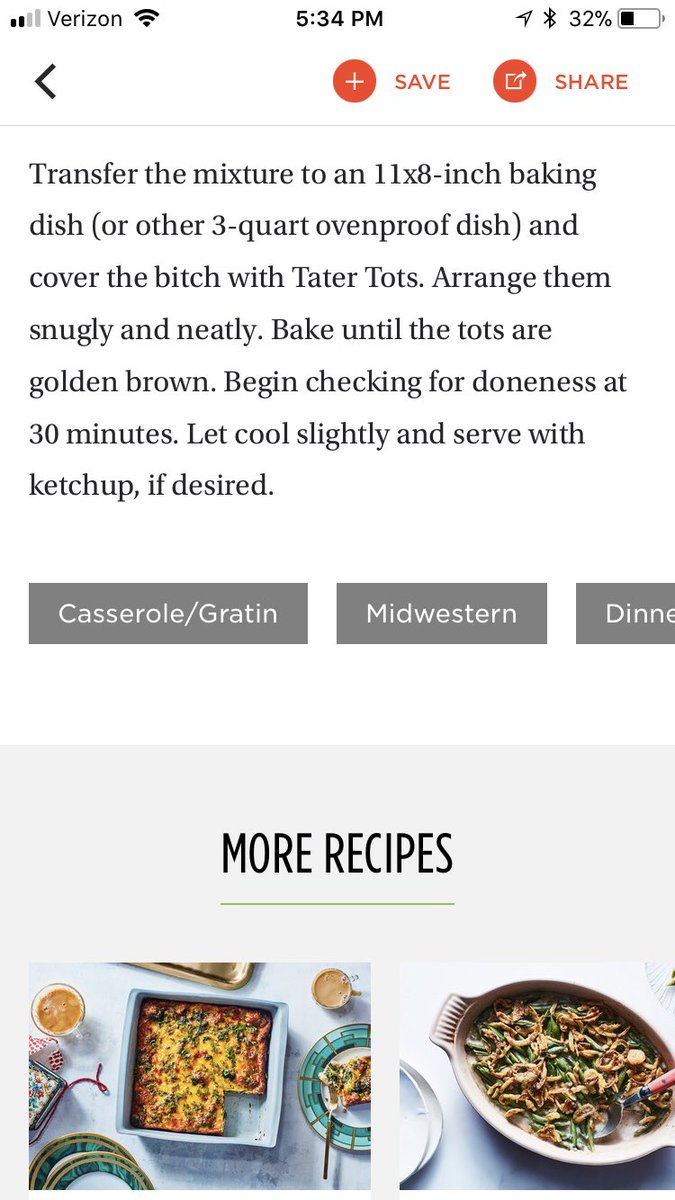 Kayla green on twitter found this hilarious spelling error on an spelling error on an epicurious recipe for chicken pot tot hotdish can you spot it epicurious spellingfails food httpstfkyzexqabv forumfinder Gallery