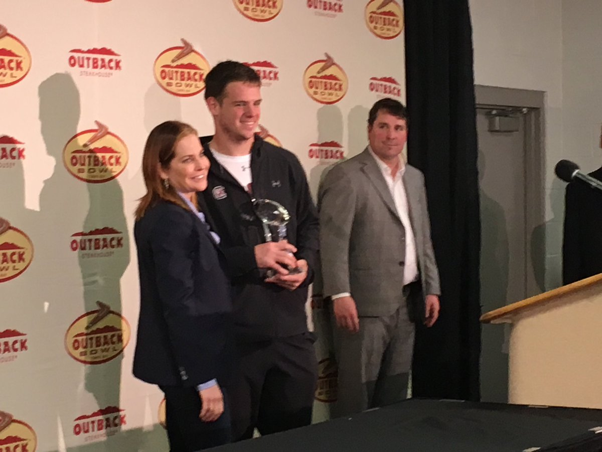 Jake Bentley is your 2018 @outbackbowl M...