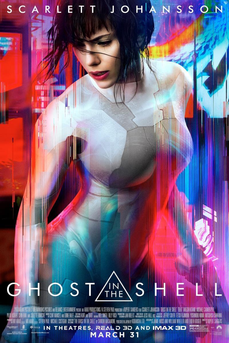 #ElCineQueHeVistoEn2018 1. Ghost in the Shell (2017) 5/10