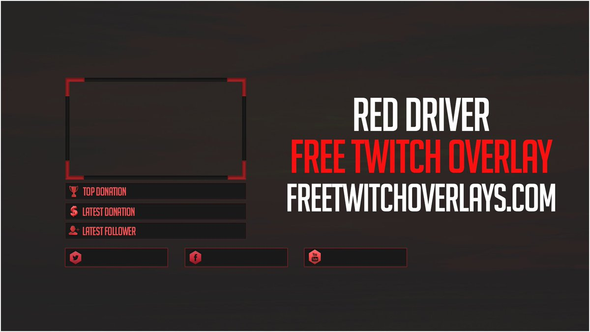 Free Twitch Overlays on Twitter: