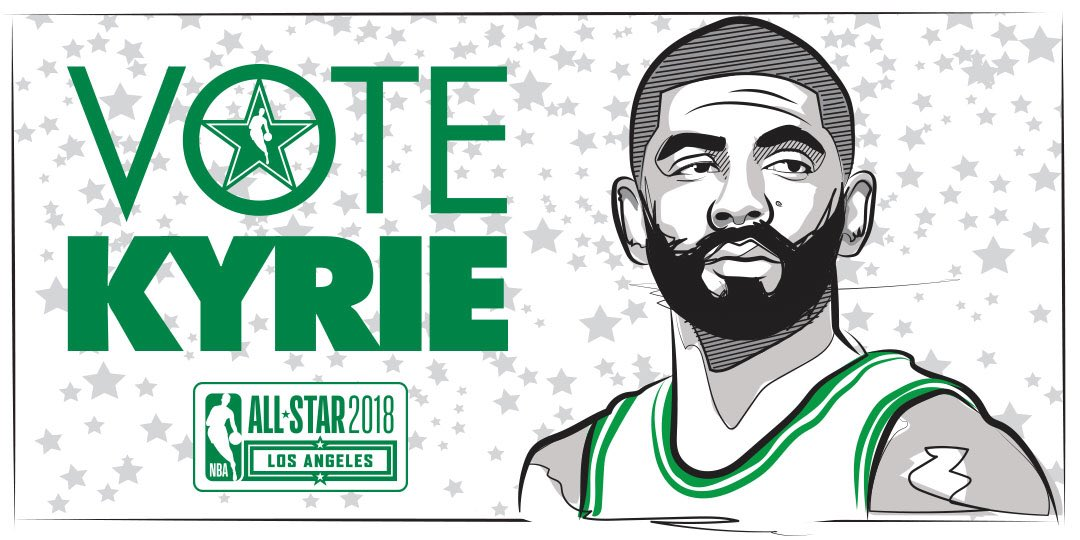 New year, same Kyrie Irving  1 retweet = 1 #NBAVote