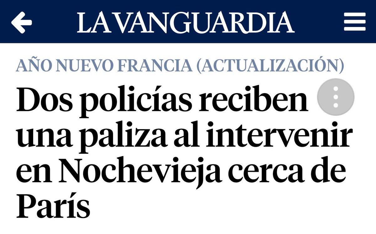#Champigny dans les médias espagnols, ou...