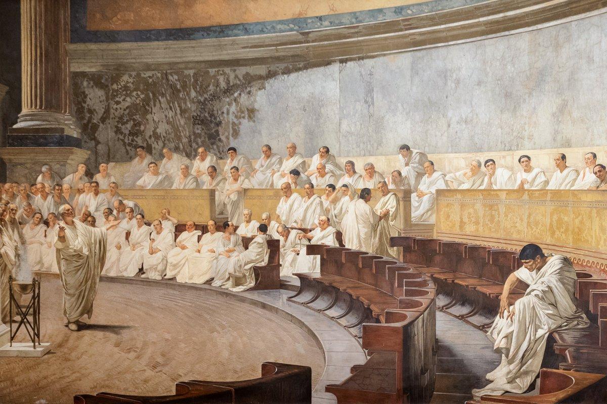 Senato repubblica on twitter la sala maccari di for Senato repubblica