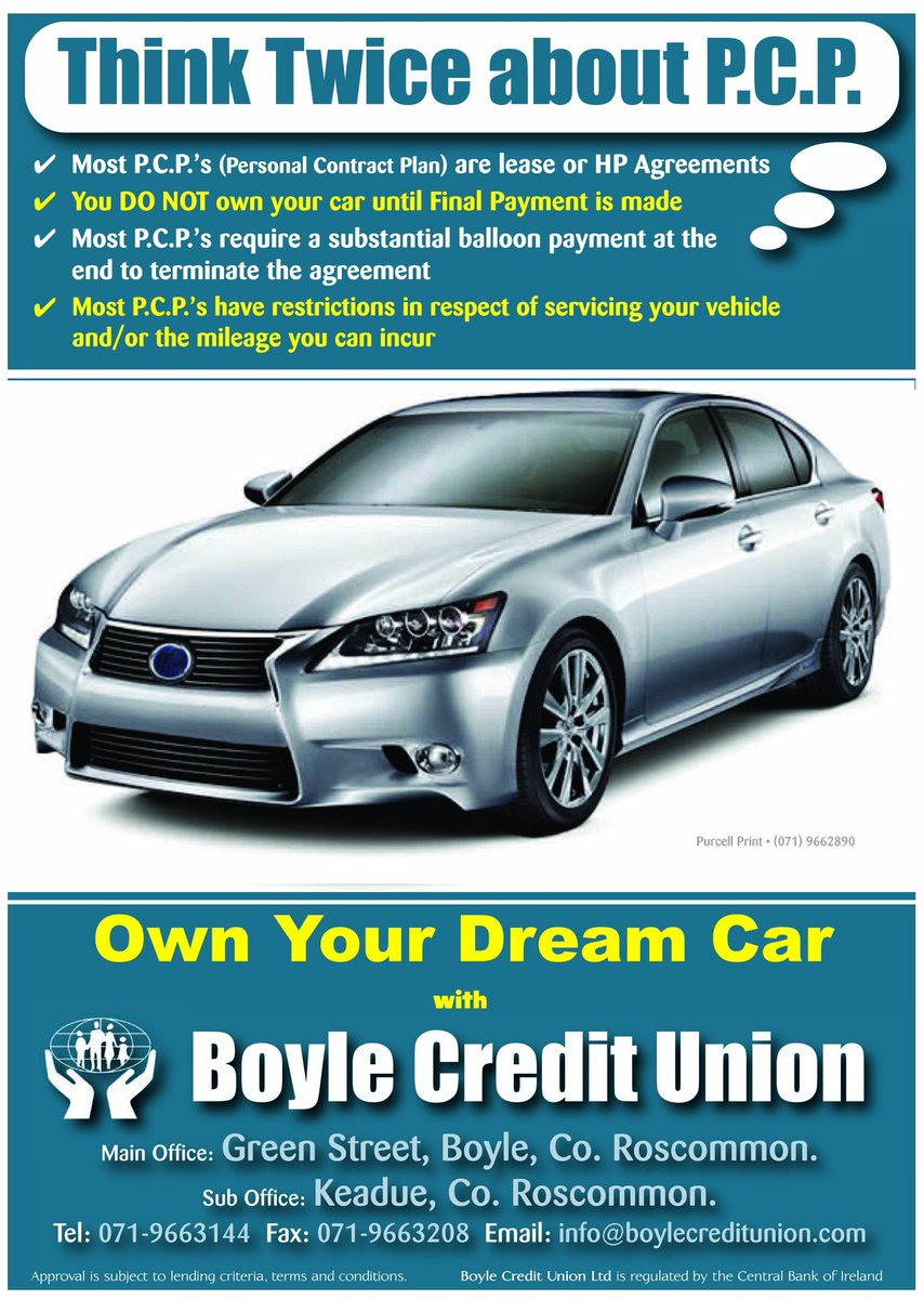 Lease To Own Car >> Boyle Credit Union On Twitter Own Your Own Car Without Hp