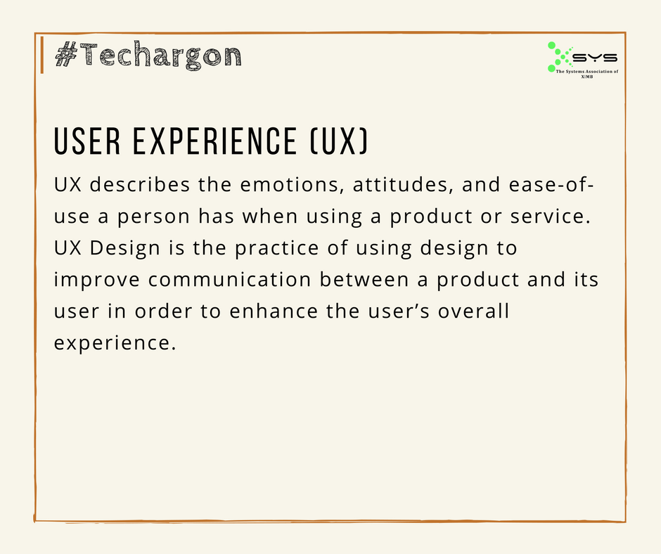 Xsys Ximb On Twitter Techargon By Xsys Brings You The Tech Jargon Of The Day Let S Have A Look At What Is User Experience Ux Know More Https T Co Oxl2nsyvkj Userexperience Https T Co Lv42we64tz