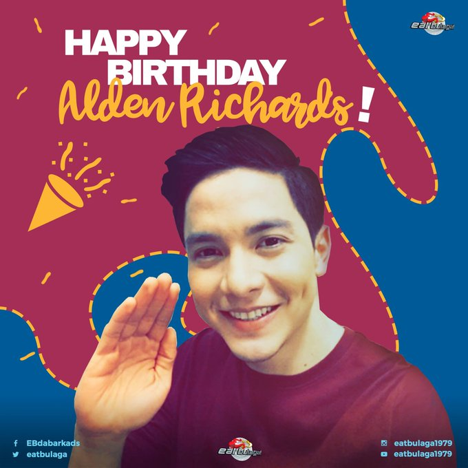 Happy Birthday & Happy New Year tou You Alden Richards!
