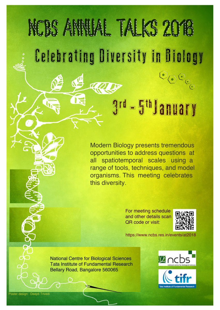 National Centre for Biological Sciences on Twitter: