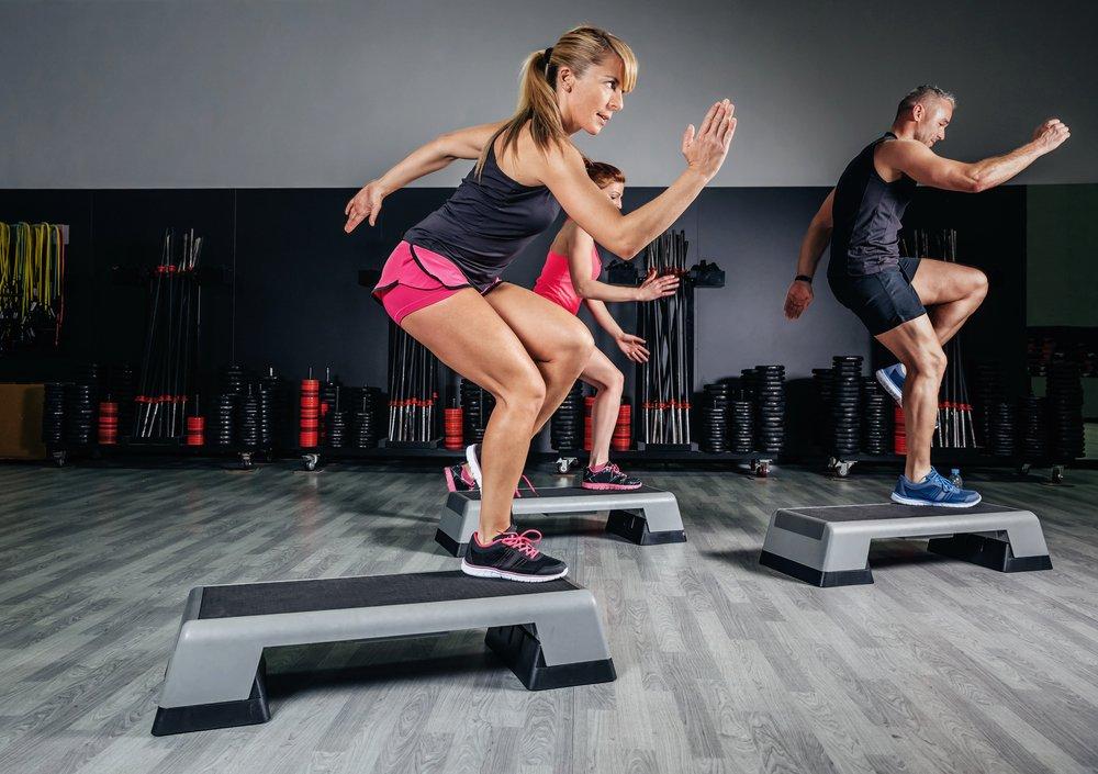 Кардио тренировка для похудения в зале