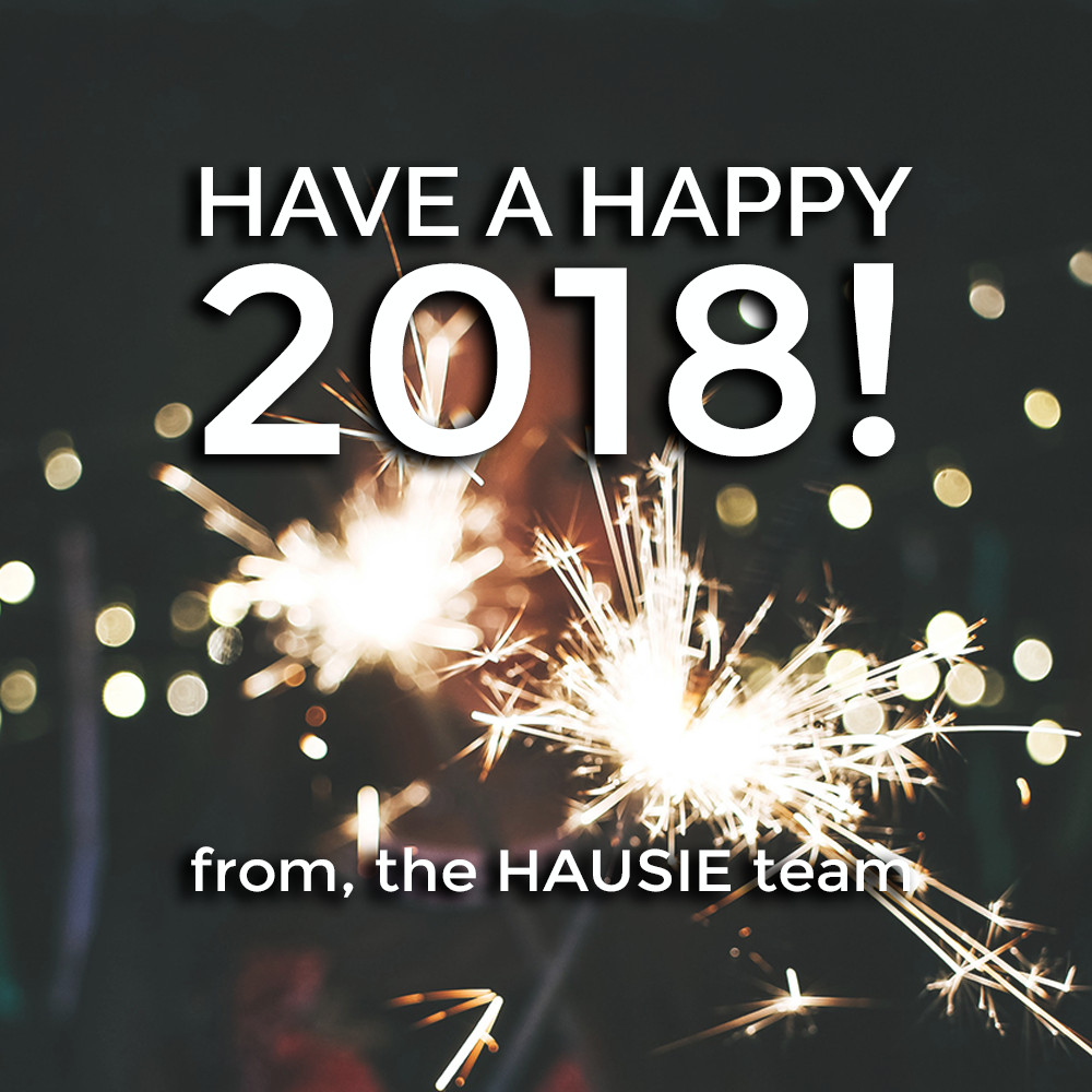 Happy New Year! The HAUSIE team hopes everyone had a wonderful Christmas break. With 2018 ringing in, we're looking forward to the SS19 and FW19 season - stay tuned in for our events and opportunities! #newyear #2018 #hausiestudio #fireworks #happynewyear #january #backtowork https://t.co/nrN0A5tkJP