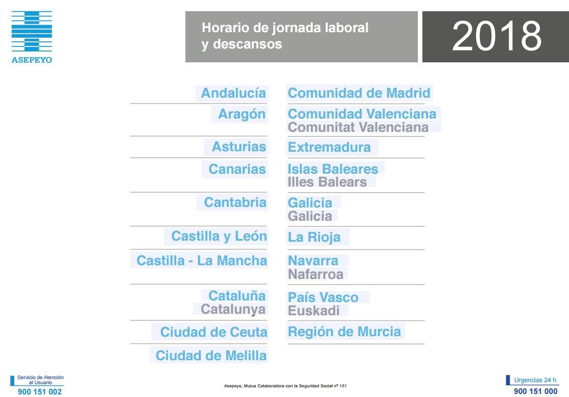 Seg Social Calendario Laboral.Asepeyo On Twitter Descarga Ya Tu Calendario Laboral Para Este