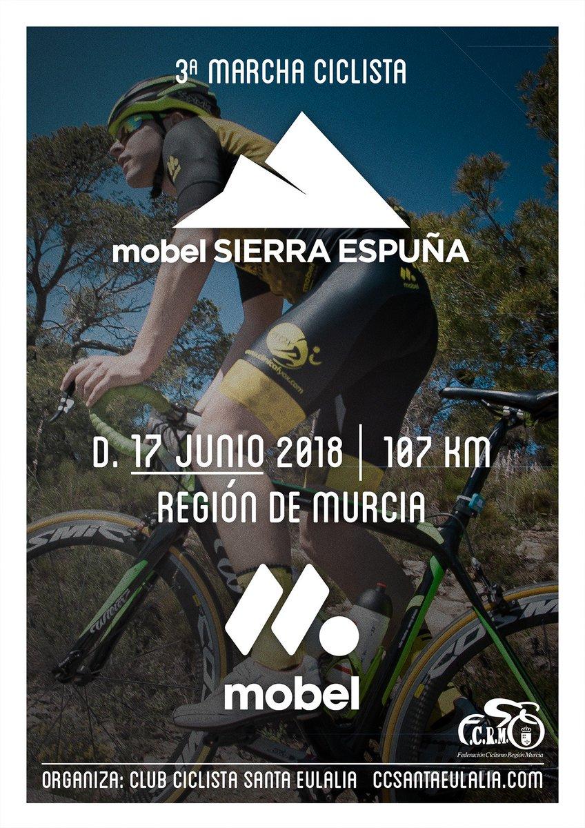 mobel sport en twitter dom 17 junio 2018 fecha definitiva para el reto ciclista mas duro de la region de murcia la marcha ciclista mobelsport