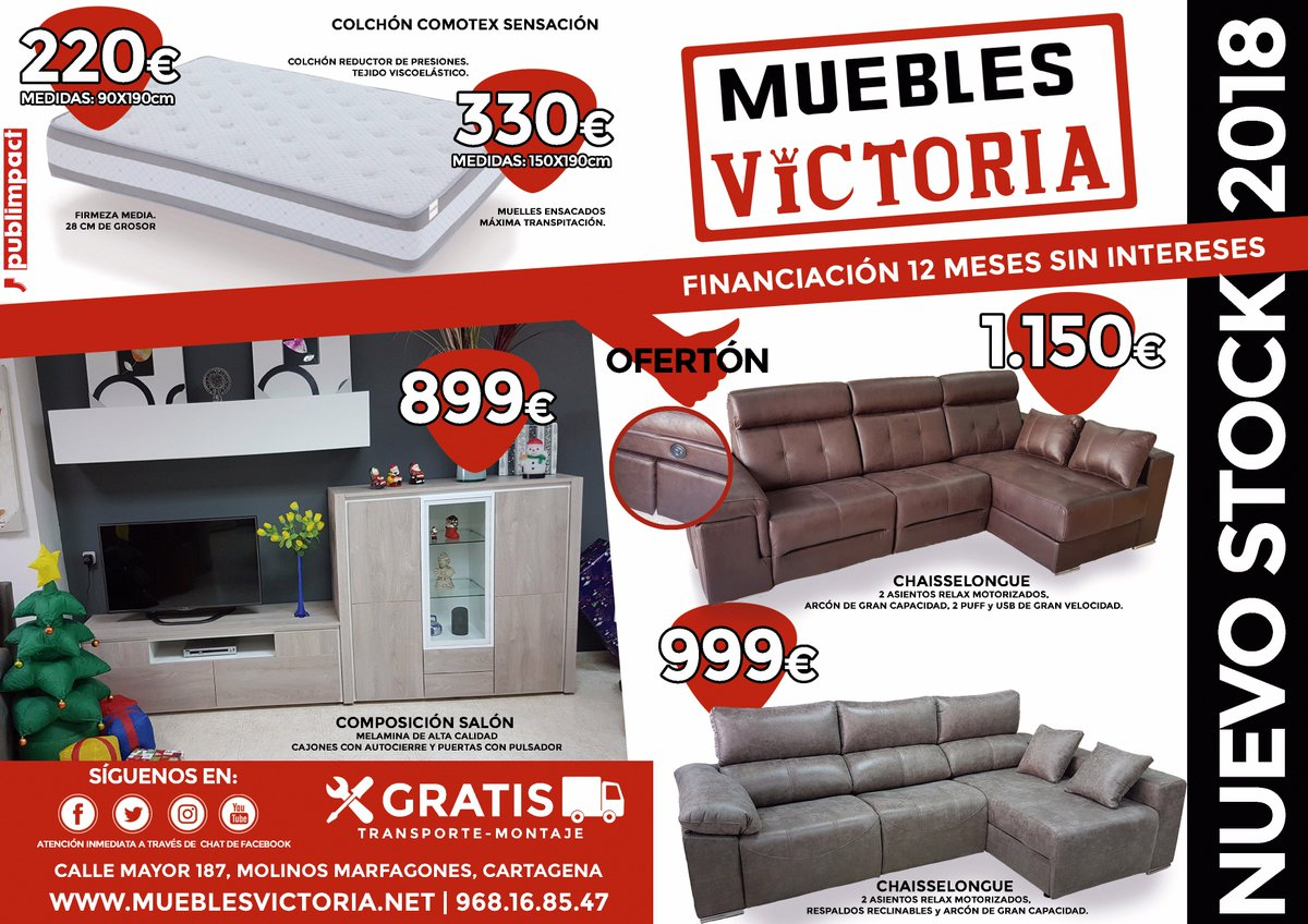Ofertas 2018 # Muebles Requinables