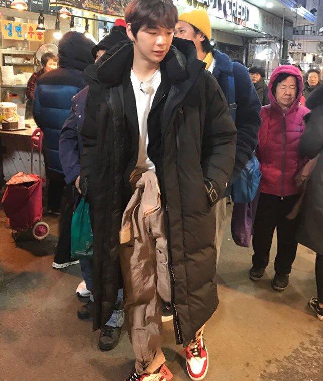 11 Starsupdate On Twitter Ongnielhwan Spotted Filming For Living