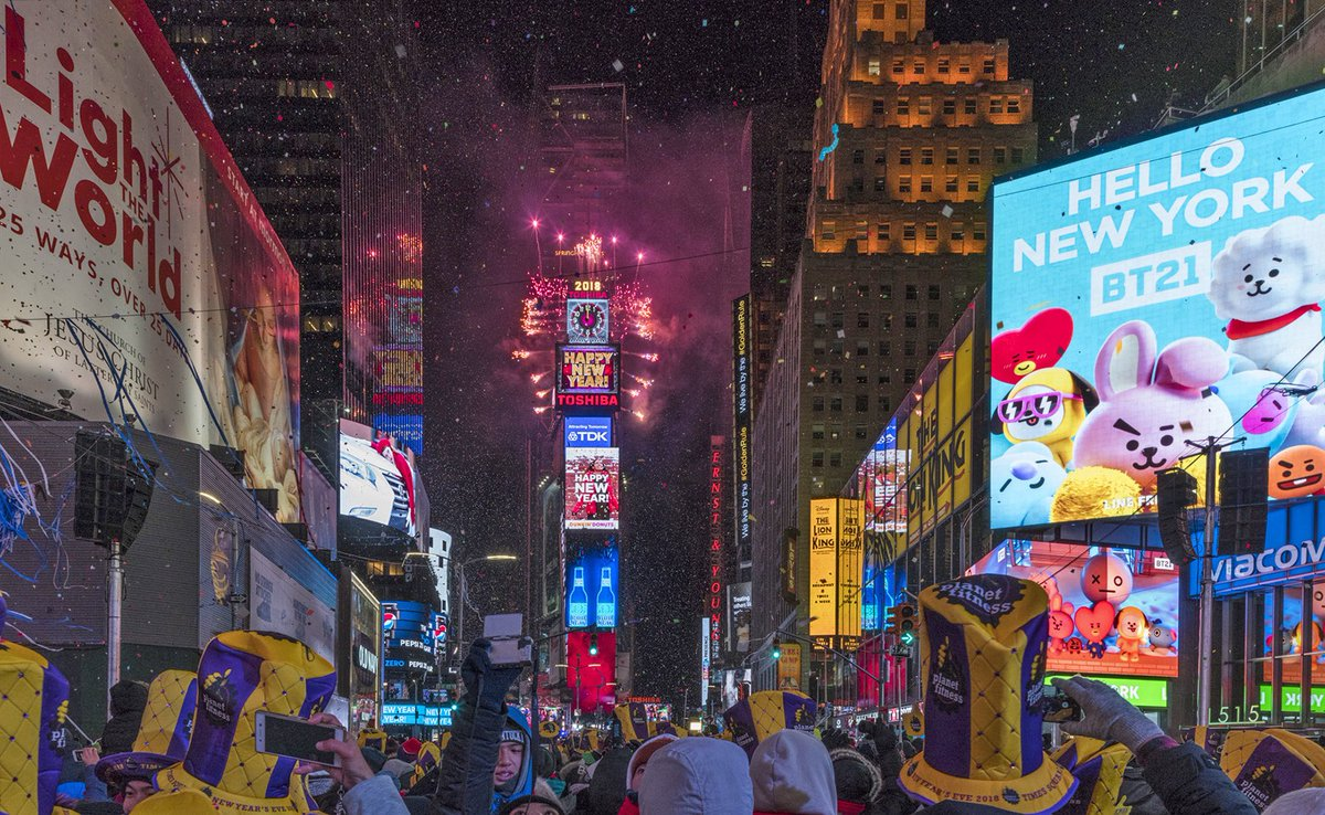 New Year Times Square
